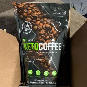 Bags of Keto Coffee It Works!